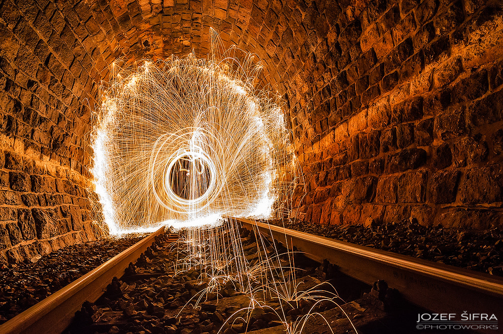 Photograph railway to the black hole by Jozef Šifra on 500px