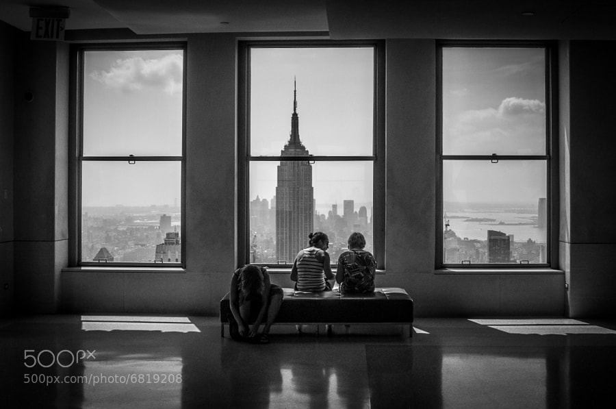Top of the Rock, Rockfeller Center, Manhattan, NYC