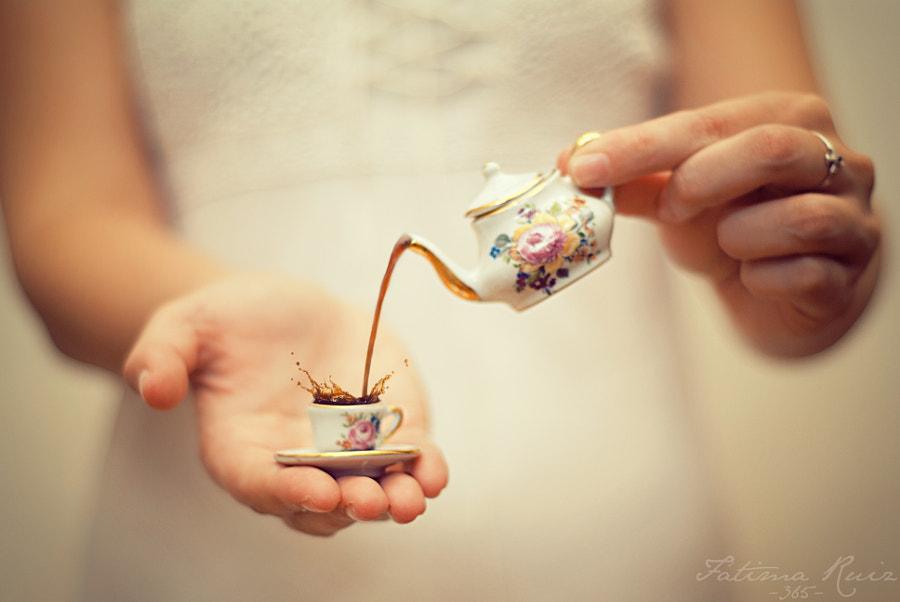 A little coffee. by Fátima Ruiz on 500px.com