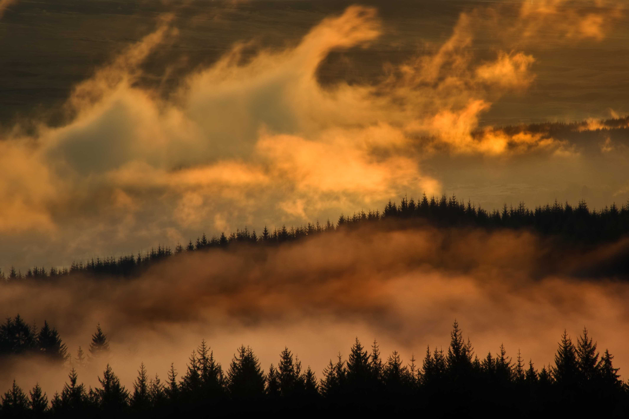 Photograph Dukes Pass sunrise... by David Mould on 500px