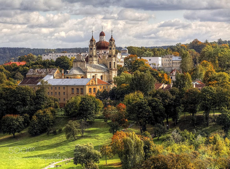 Photograph Vilnius in Autumn by Laimonas Ciūnys on 500px