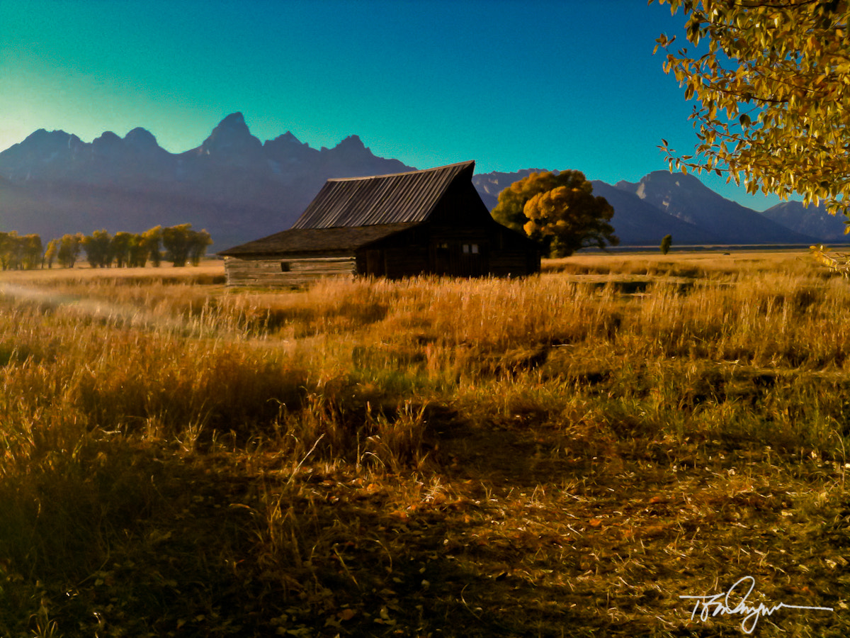 Photograph Along Mornan Road--IPhonography by Tom Dingman on 500px
