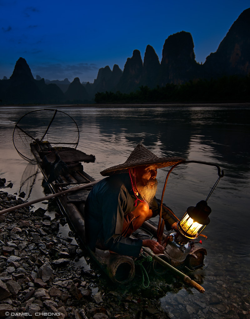 Photograph Fisherman's Blues by Daniel Cheong on 500px