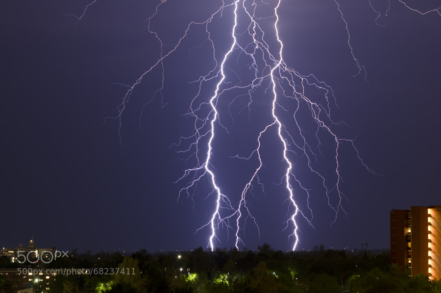 Photograph Electrical Veins by Derek Stratman on 500px