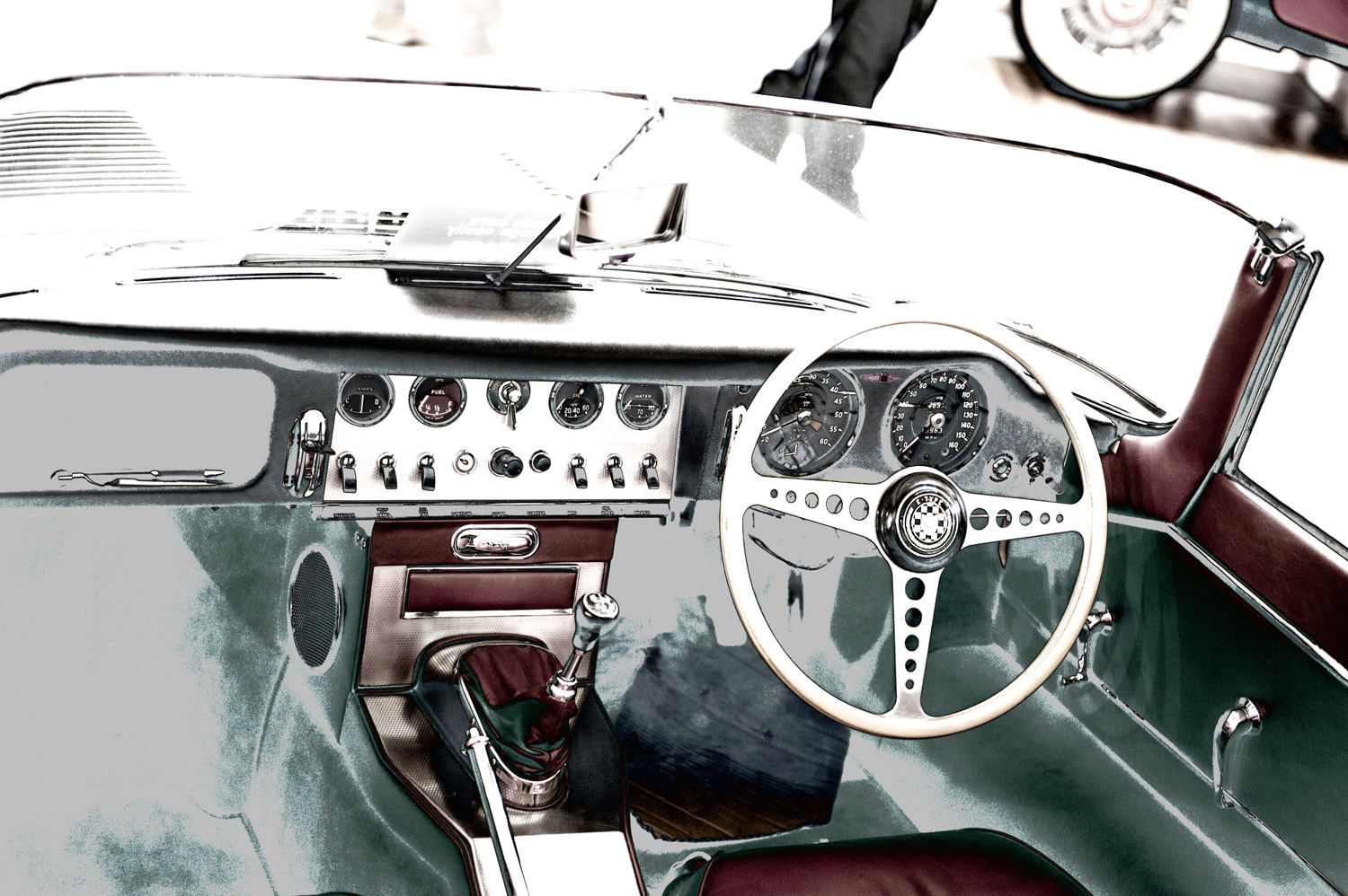 Photograph Motoclassica - E Type Jag by Mark  on 500px