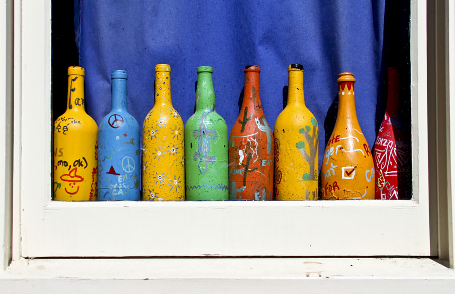 Festive Bottles by Ron French on 500px.com