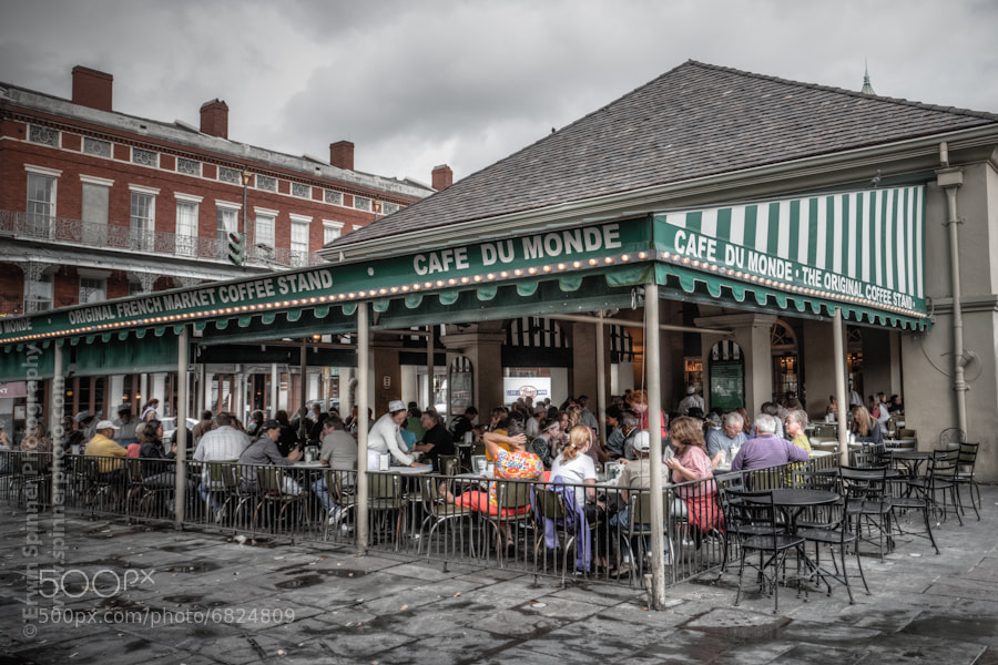 Photograph New Orleans- Cafe Du Mode by Erwin Spinner Photography on 500px