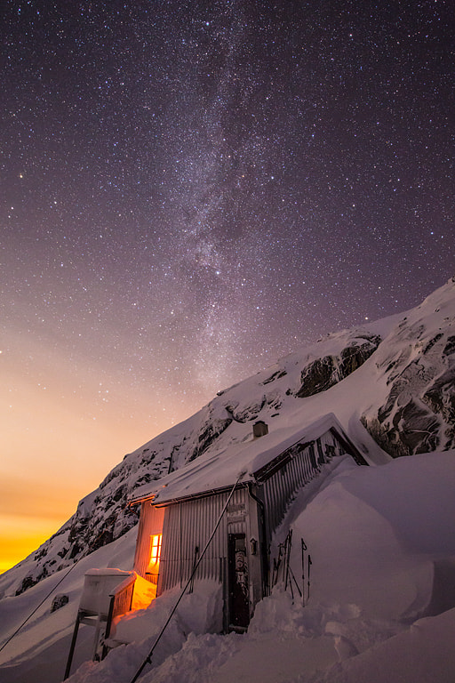 Photograph The milky way by Espen Haagensen on 500px