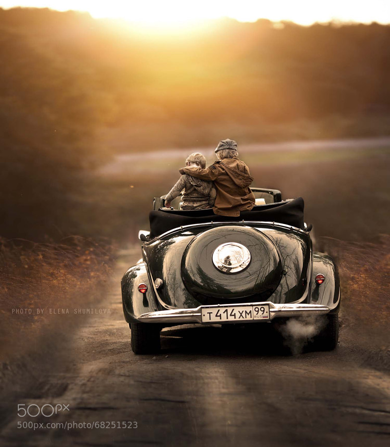 Photograph sunday ride.. by Elena Shumilova on 500px