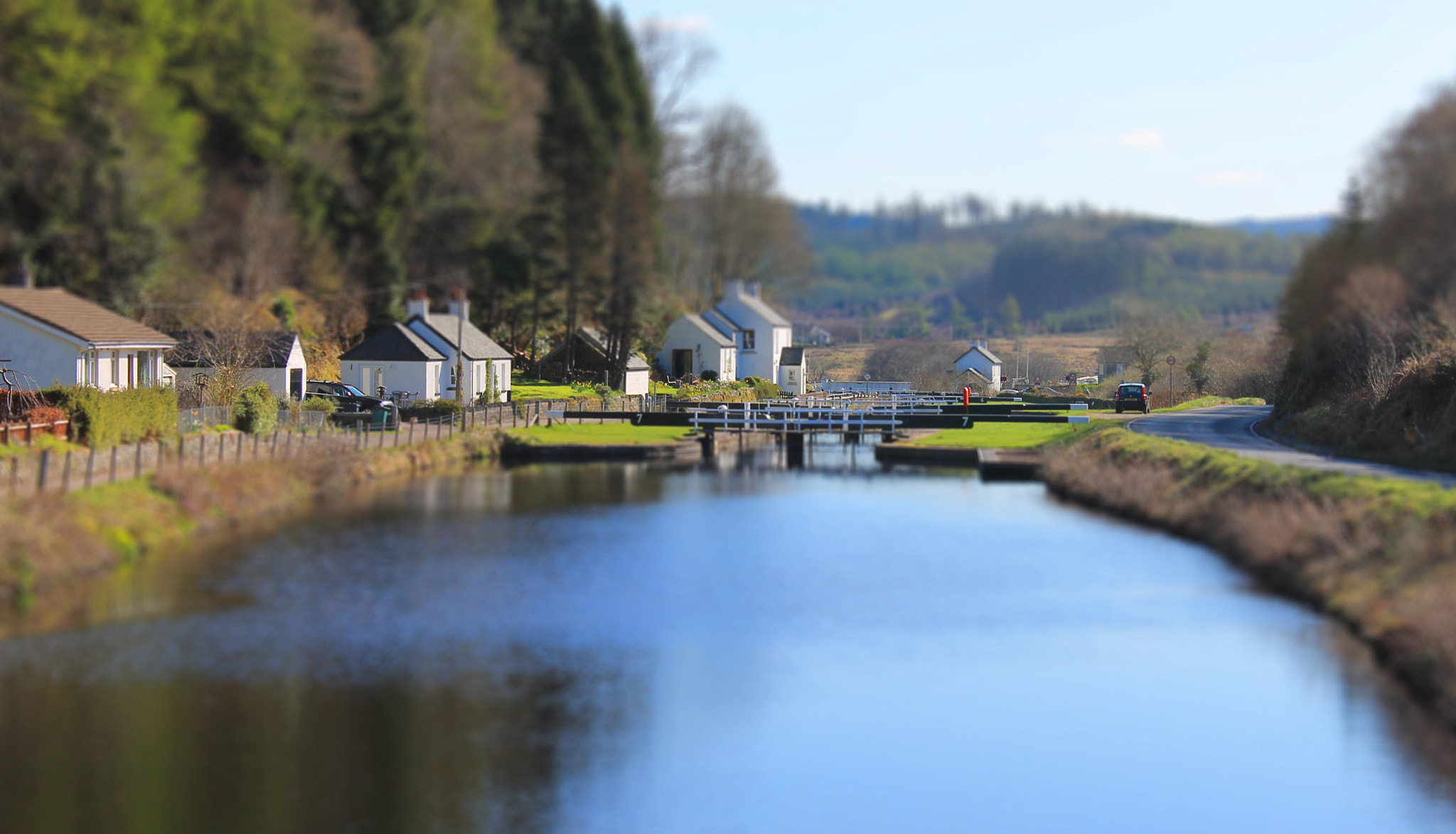 Photograph Cairnbaan Locks, Scotland by Lee Black on 500px