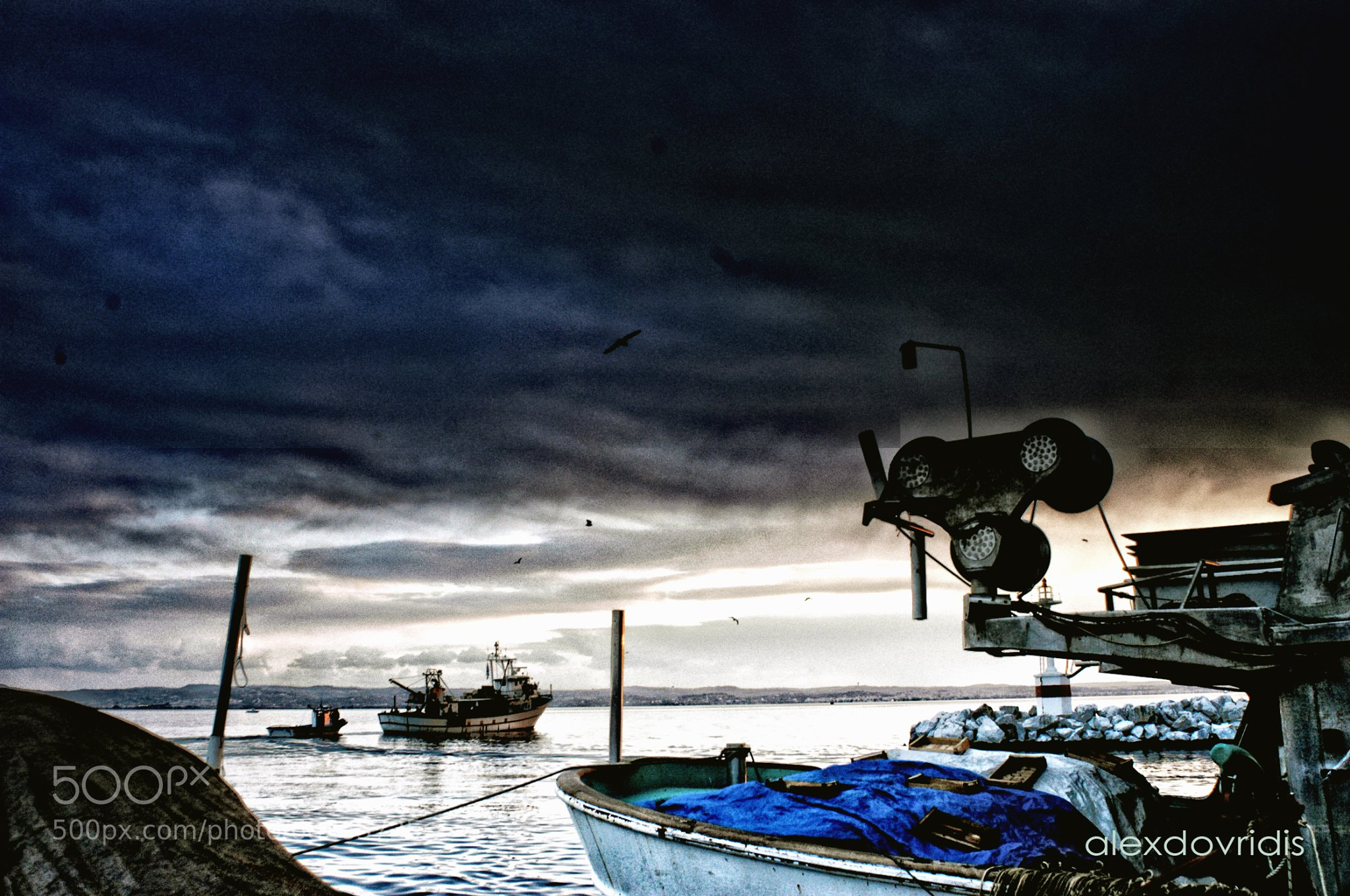 Photograph Fishing boats by alex dovridis on 500px