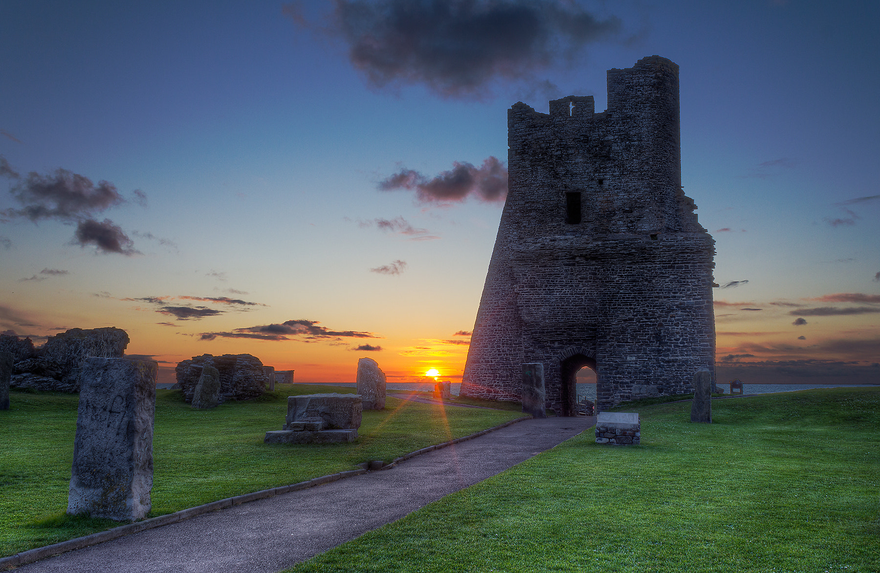 Photograph Aberystwyth Castle Ruins by Ad Jones on 500px