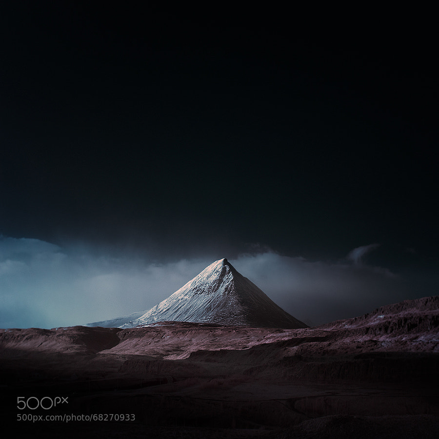 Photograph ? baula blue IR by Andy Lee on 500px