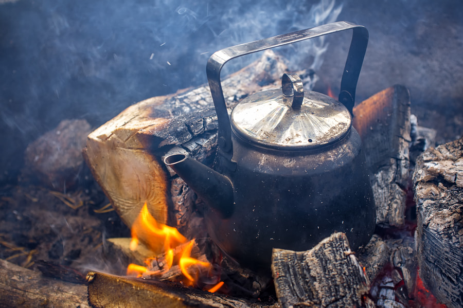 Coffee Pan in Fireplace by Teemu Tretjakov on 500px.com