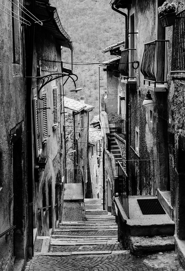 Streets of Scanno by Andrea Mazzocchetti on 500px.com