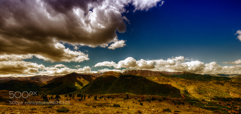 Photograph montagne bicolor by Davide Romanelli on 500px