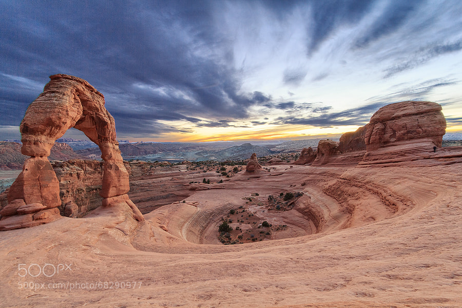 Photograph Delicate Arch | Arches NP, Utah, USA by Matthias Huber on 500px