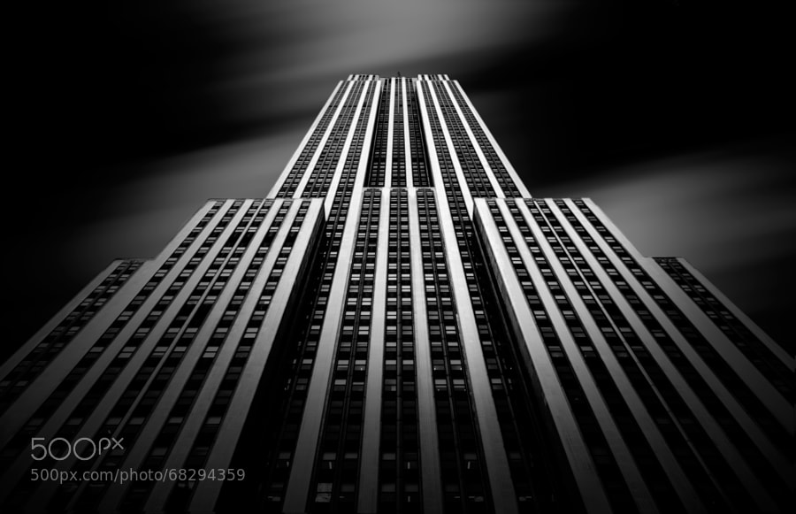 Photograph The Empire State by Olivier Schwartz on 500px