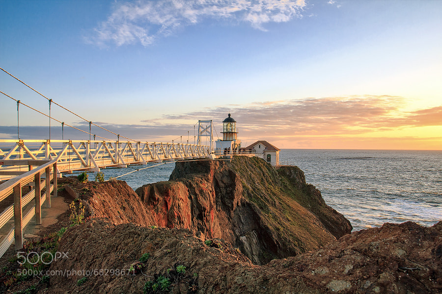 Photograph Point Bonita Lighthouse  | San Francisco, California, USA by Matthias Huber on 500px
