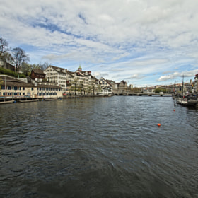 River, Zürich by Eduard Grebe (eduardgrebe)) on 500px.com