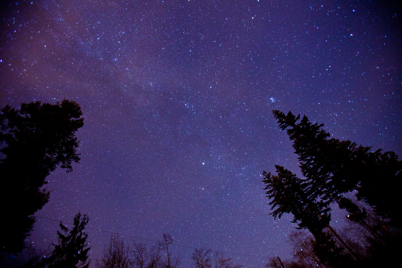 Photograph Starry Night - Sultan, Wash. by John Vicory on 500px