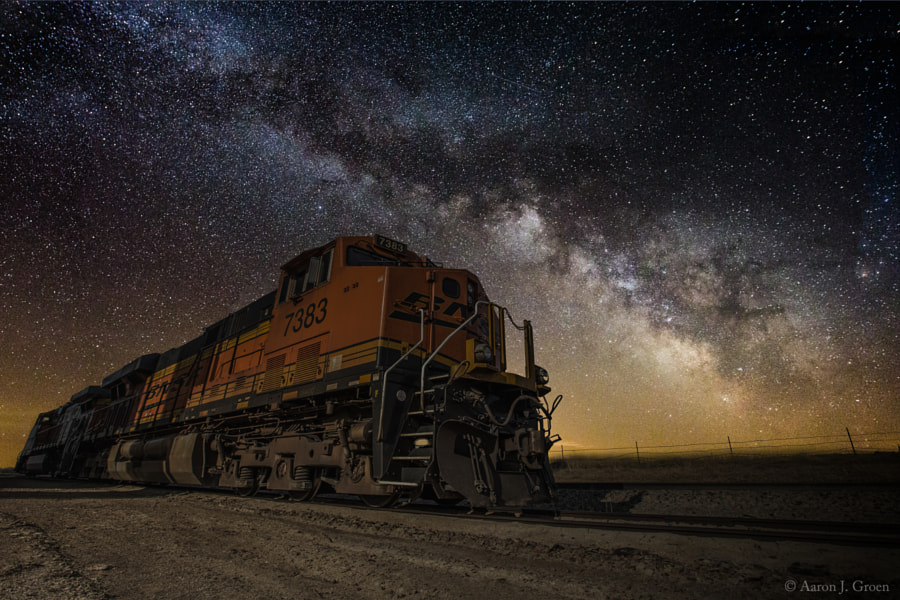 Night Train by Aaron J. Groen on 500px.com
