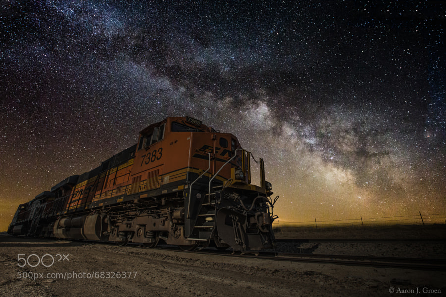 Photograph Night Train by Aaron J. Groen on 500px