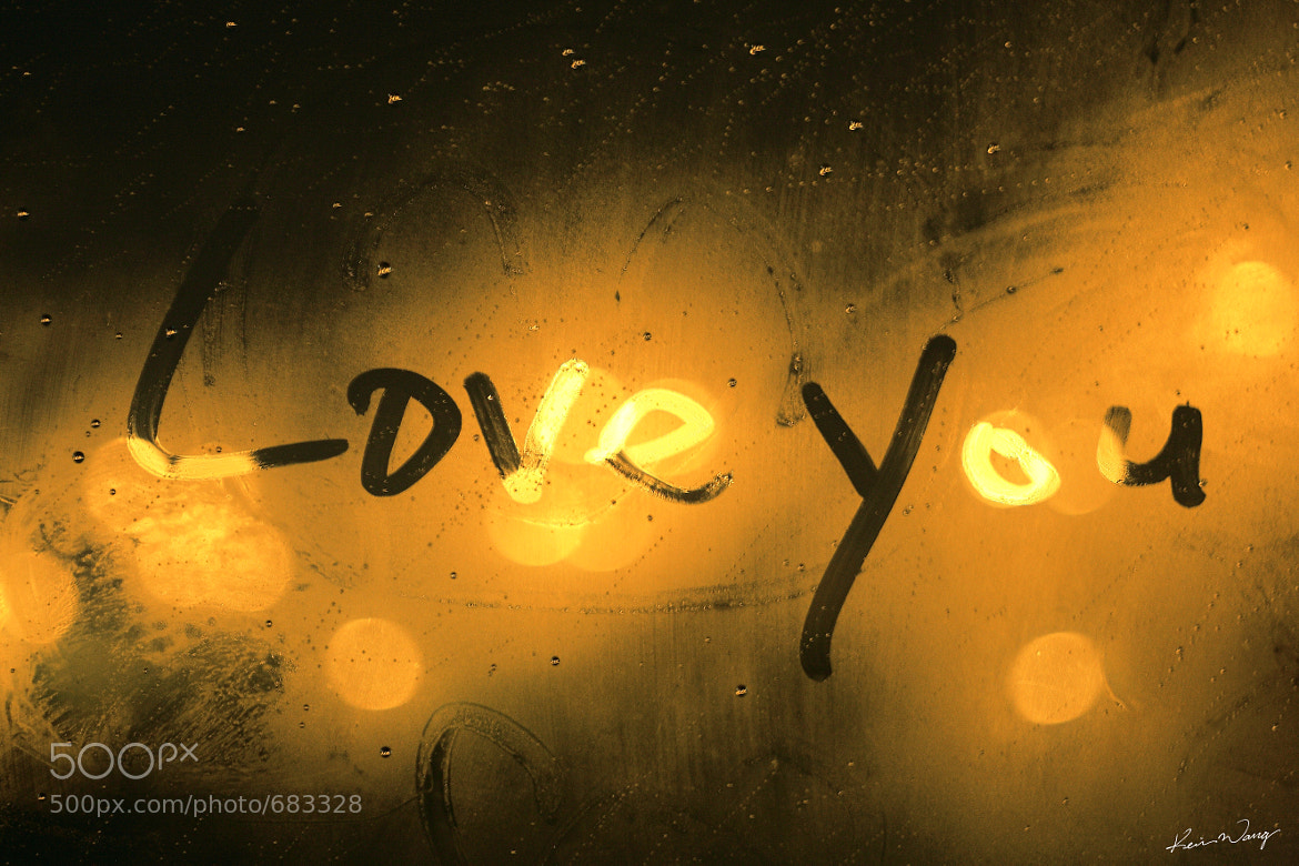 Photograph Love you by CHI WEN WANG on 500px