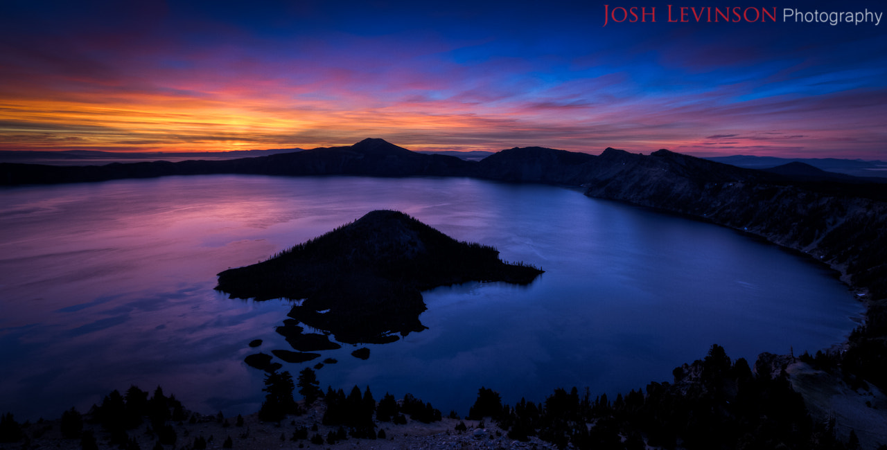 Photograph Dawn at Crater Lake by Josh Levinson on 500px