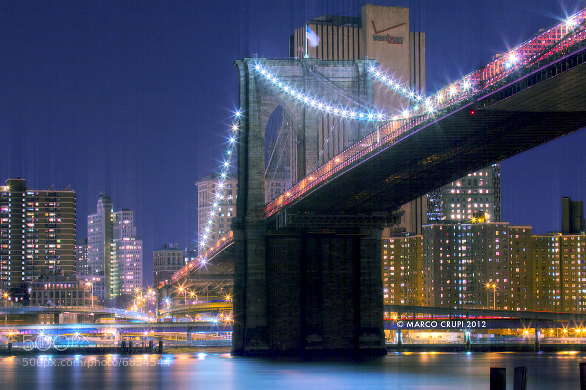 Photograph Brooklyn Lights by Marco Crupi on 500px