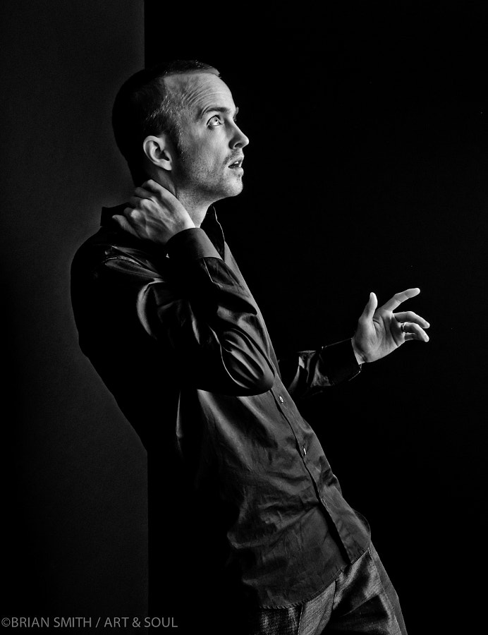 Photograph Film Noir: Aaron Paul by Brian Smith on 500px