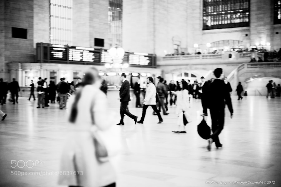 Photograph Grand Central Station by Eugene Nikiforov on 500px