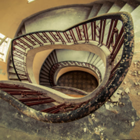 stairs by Ina Gat on 500px.com
