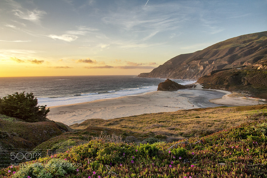 Photograph Sunset Bay | Big Sur, California, USA by Matthias Huber on 500px