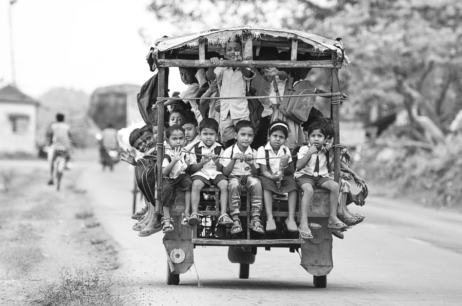 School Time by Dilwar Mandal on 500px.com