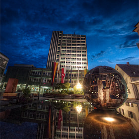 HDR of townhall Bayreuth