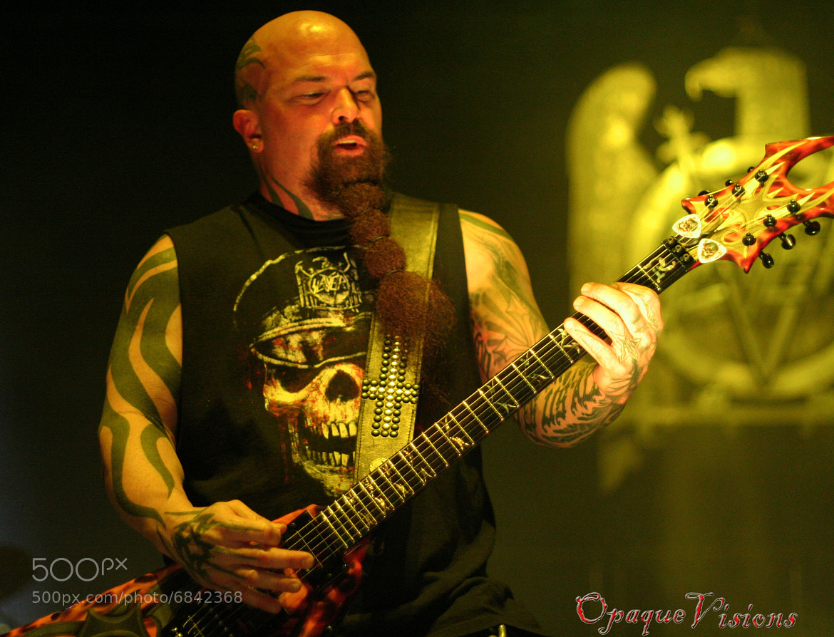 Photograph Kerry King - Slayer by Shawn Evans on 500px