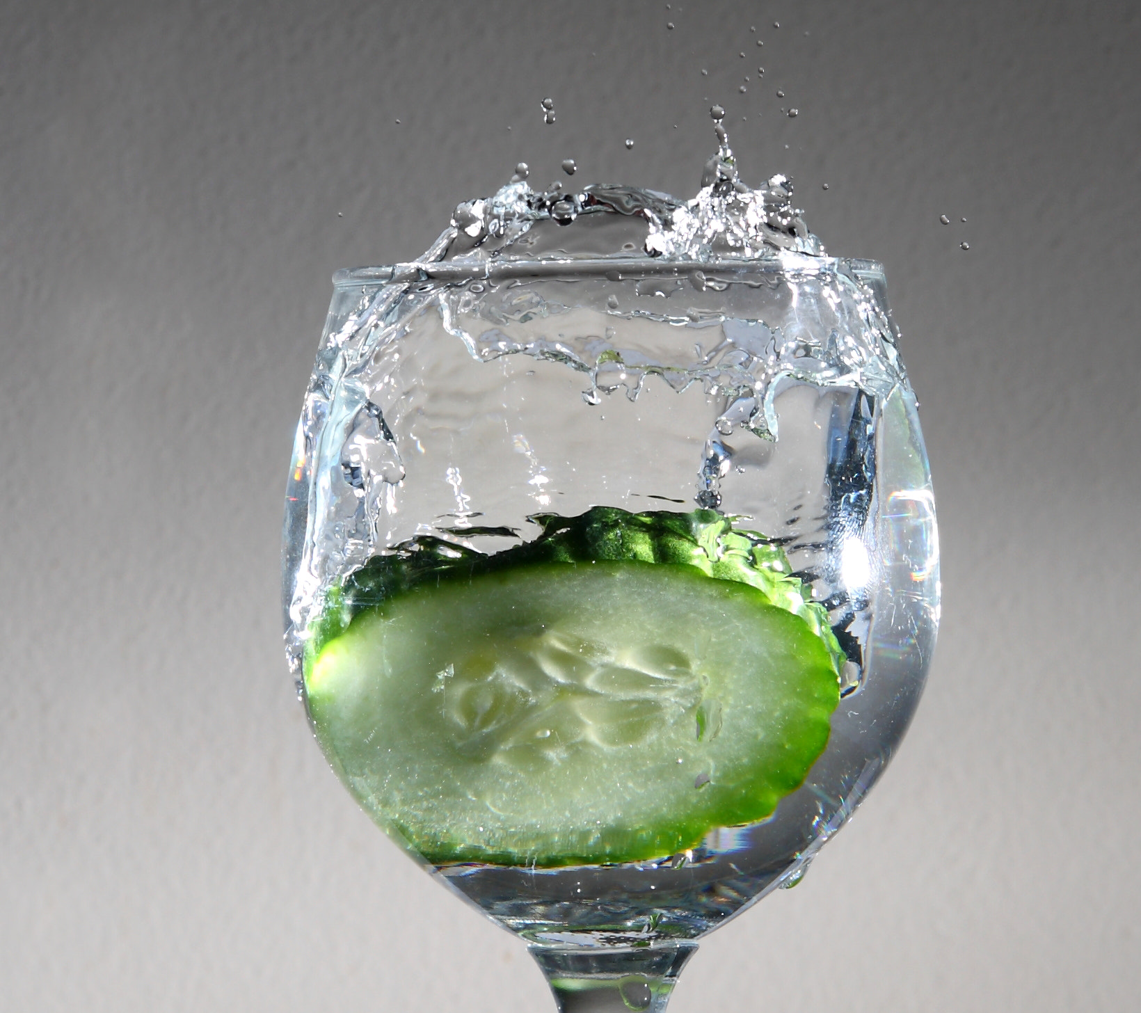 Photograph Cucumber Splash by Steve Garner on 500px