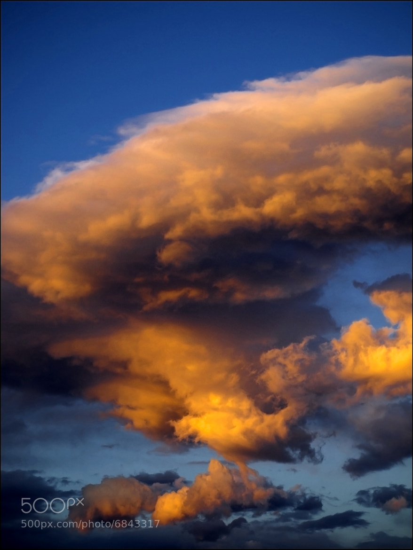 "Photograph ""Sky Blaze"" by Kounoupis Anastasios  on 500px"