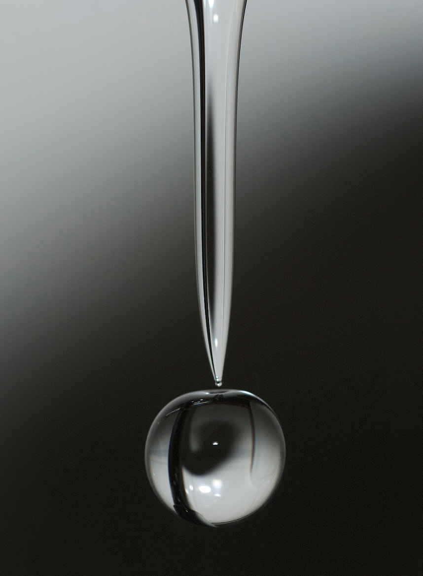 Photograph drop of water by Luis Martínez on 500px