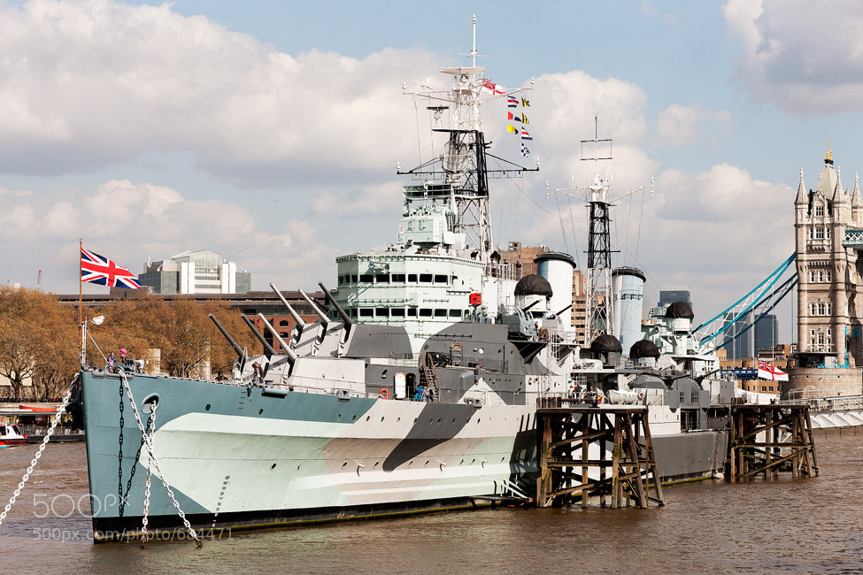 Photograph HMS Belfast by  Giles on 500px