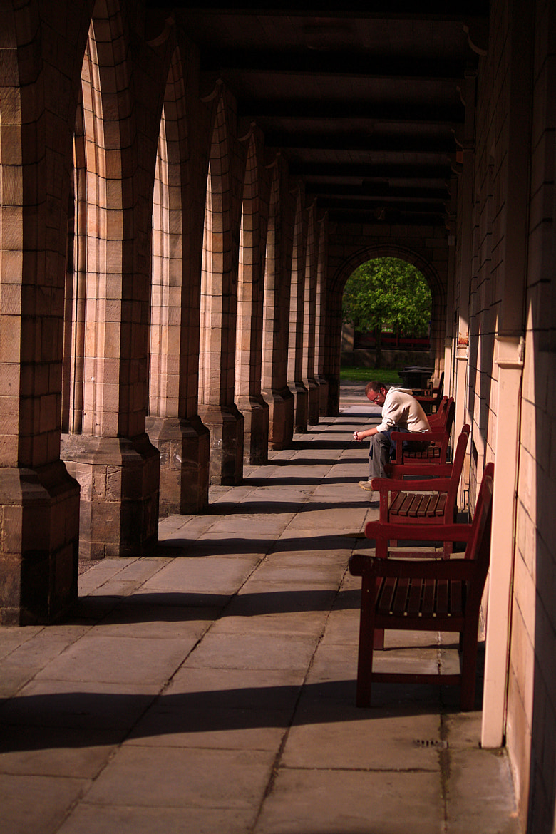 Photograph Contemplation in the Cloister by Andy Stuart on 500px