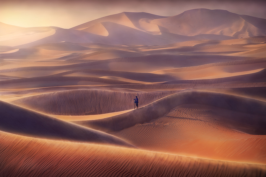 Photograph Sand Waves by abdulla almajed on 500px