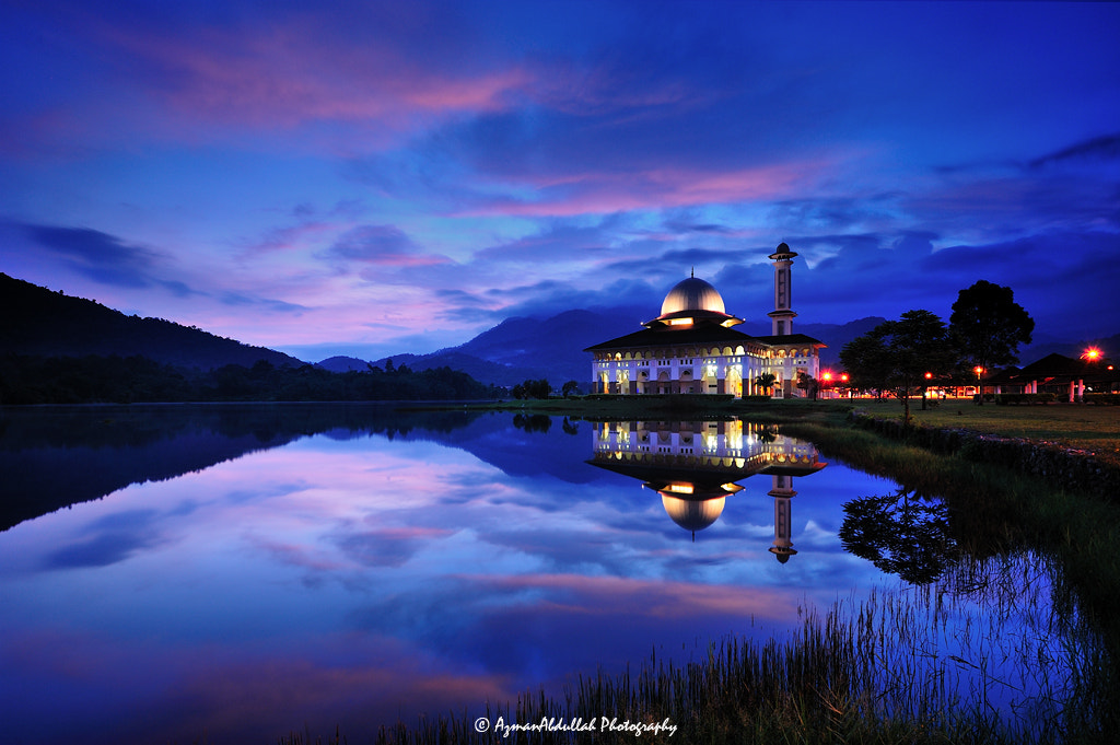 Photograph DQ In Blue Hour by Azman Abdullah on 500px