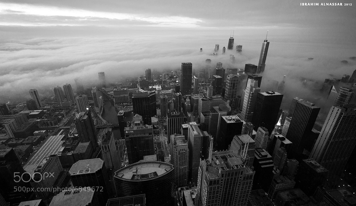 Photograph Chicago from the top  by Ibrahim  Alnassar on 500px