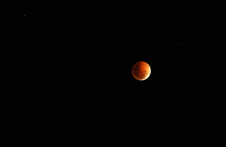 Photograph Outback blood moon by Steve Chilton on 500px