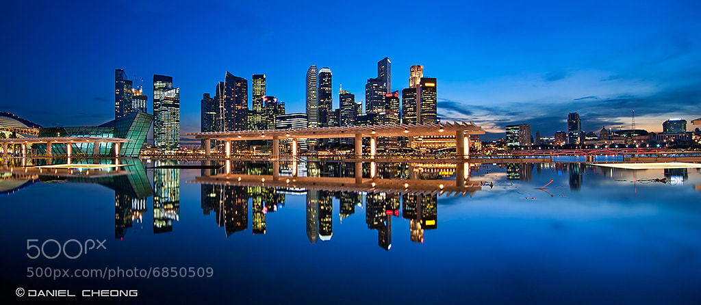 Photograph Blue Stillness by Daniel Cheong on 500px
