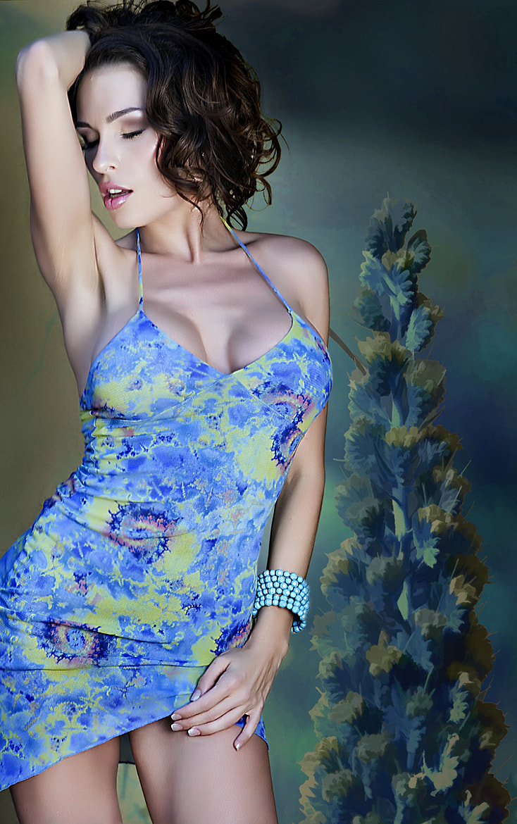 Photograph aria in blue... by nelly putnam on 500px