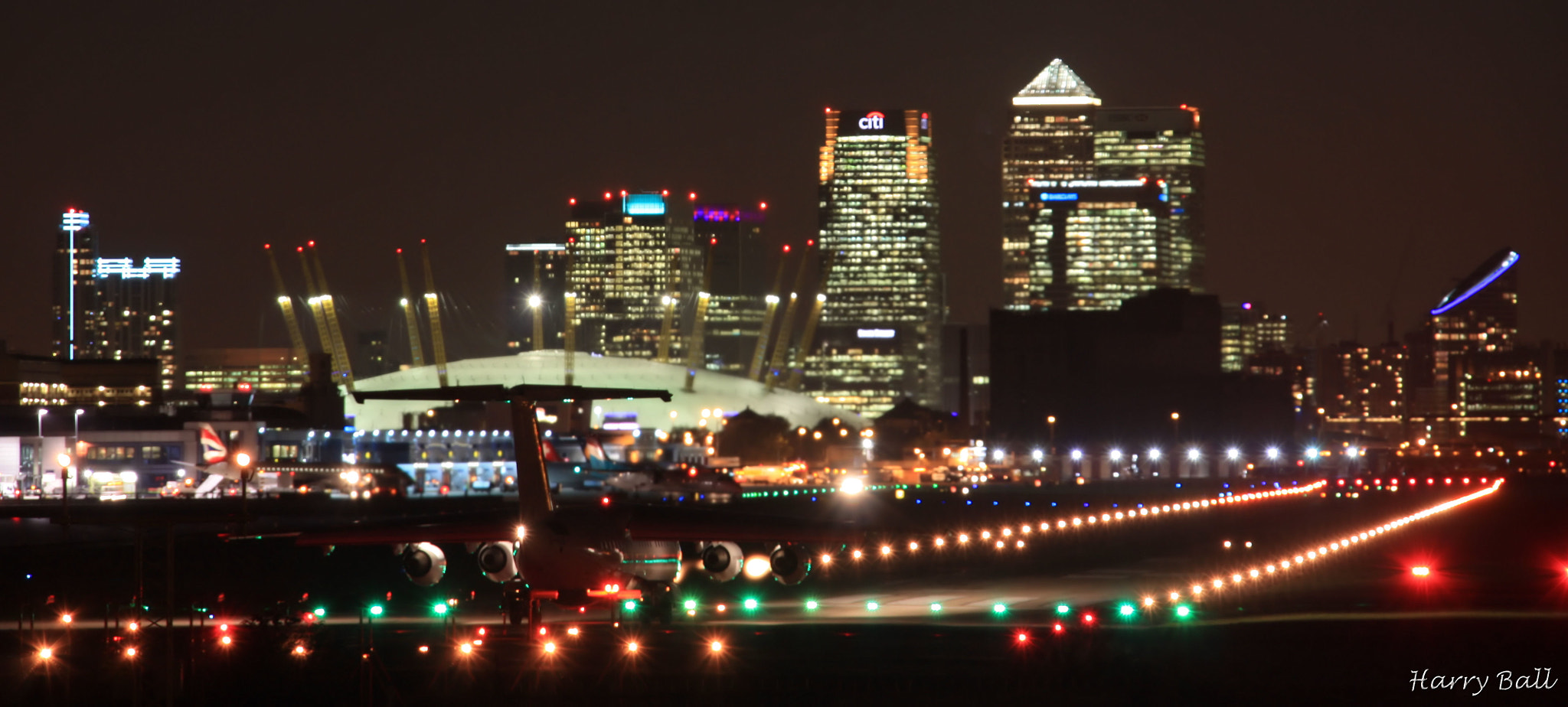Photograph London City Airport by Harry Ball on 500px