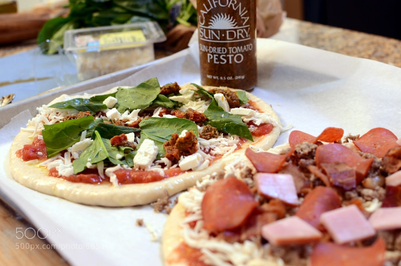 Photograph Home Made Pizza by Tara Conklin on 500px